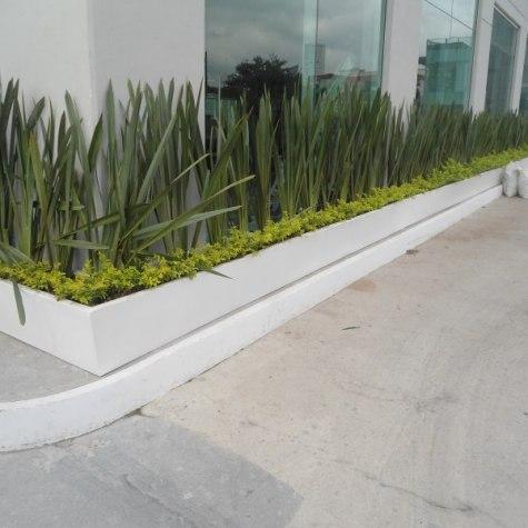 Jardinera de Fibra de Vidrio